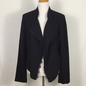 Elevenses waterfall cropped blazer - lovely layer!